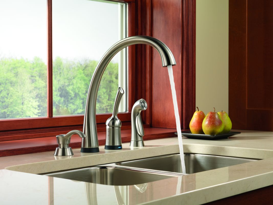 to faucets dripping reisa decor touch how sexy touchless fix kitchen by home faucet