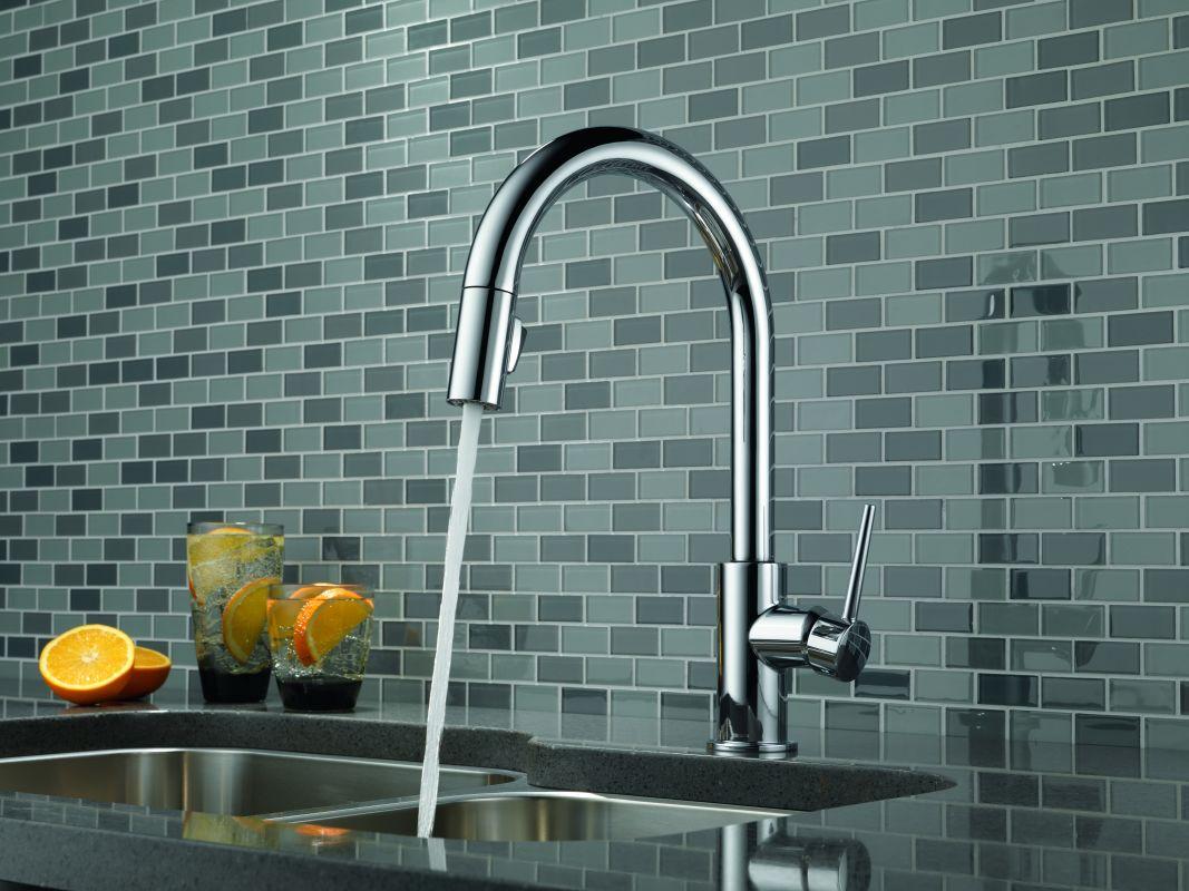 Hands Free Kitchen Faucet Delta - Trendyexaminer