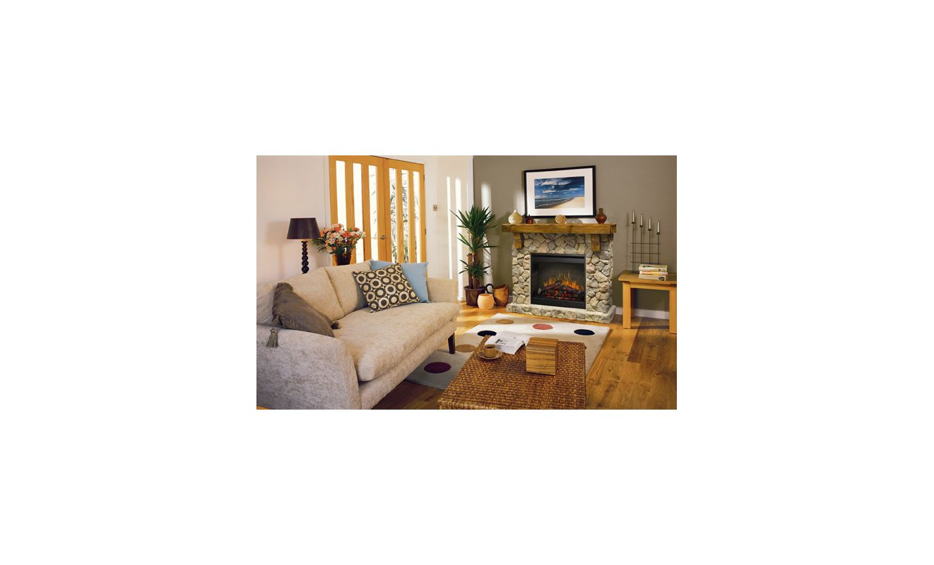 dimplex fieldstone stone look electric fireplace smp 904 st