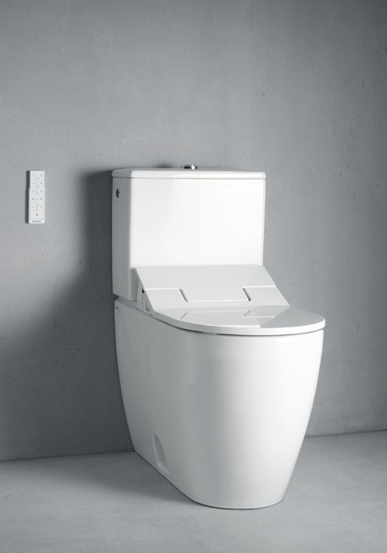 Duravit 2171510000 White Dual Flush Me By Starck 0 92 1 32 Gpf Two Piece Elongated Ada Height Toilet Bowl Only Less Seat And Tank Faucet