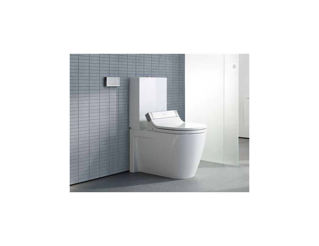 Duravit 610001001001300 White SensoWash Starck C Elongated Bidet ...