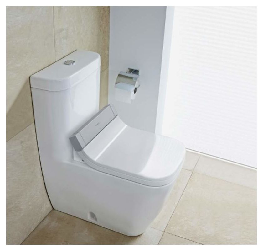 Duravit 610200001001300 White SensoWash Starck C Elongated Bidet ...