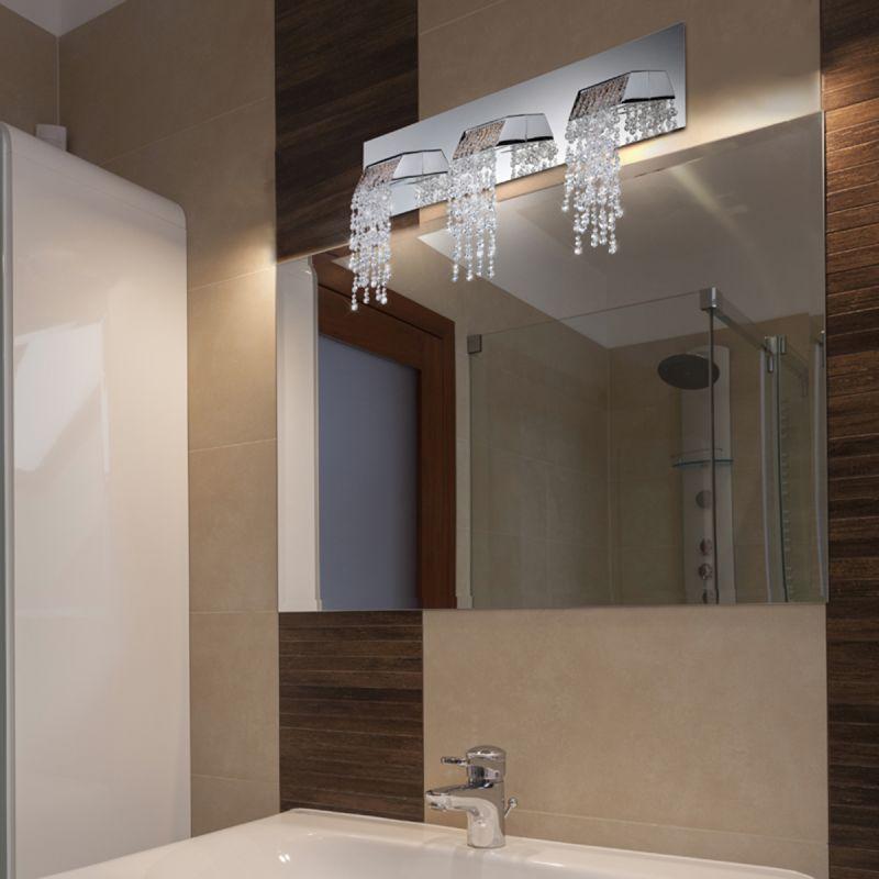 Eurofase Lighting 25812-015 Chrome Fonte 3 Light Crystal LED ...