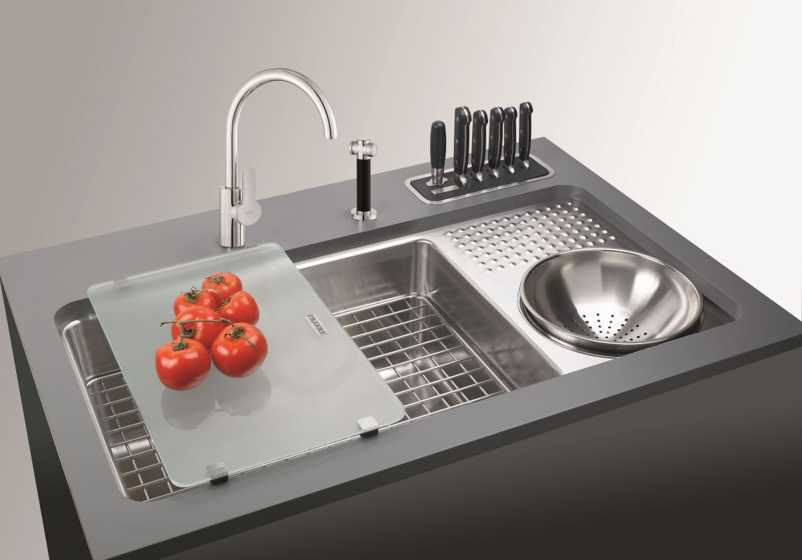 Franke cwx161 d stainless steel 34 x 17 34 double basin franke cwx161 d stainless steel 34 x 17 34 double basin undermount 16 gauge stainless steel kitchen sink with culinary work center and drain board workwithnaturefo