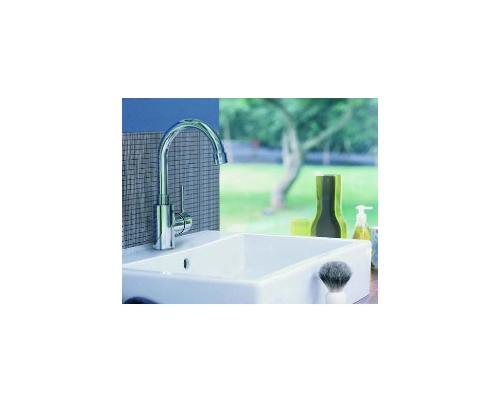 Grohe 32138EN1 Brushed Nickel Concetto New Bathroom Faucet with ...