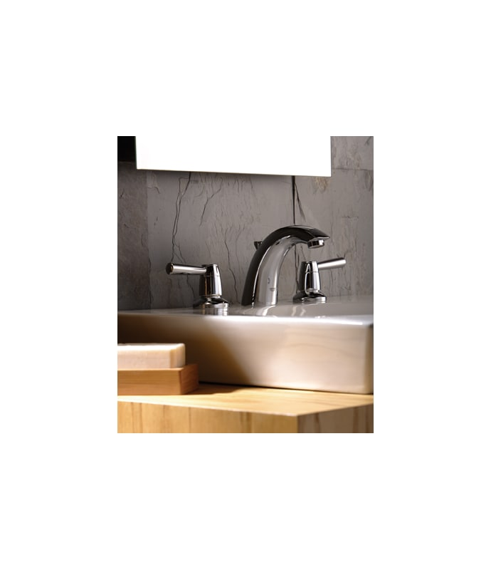Grohe 20121EN1 Brushed Nickel Arden Widespread Bathroom Faucet with ...