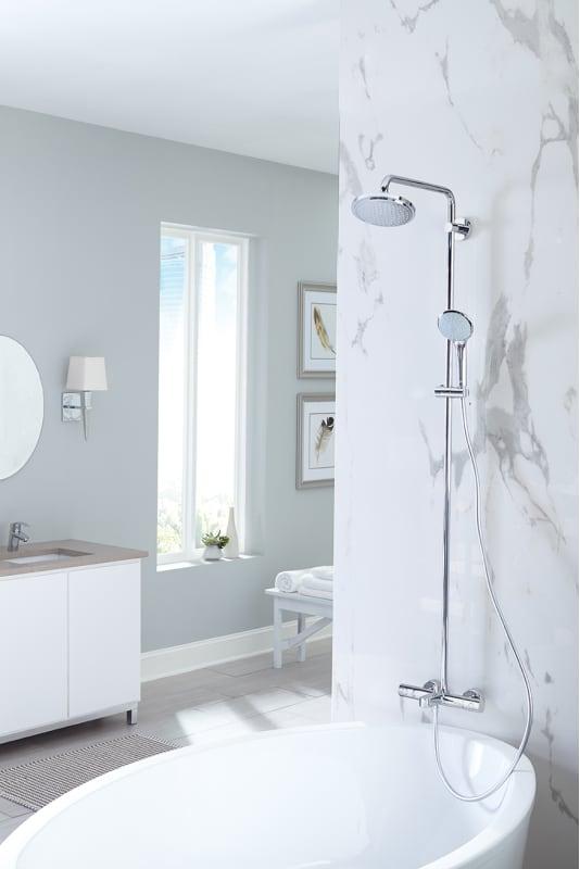 grohe 26128000 starlight chrome euphoria thermostatic shower system