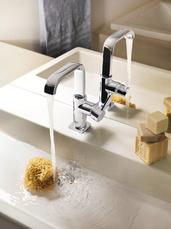 Grohe 32128000 Starlight Chrome Allure Single Hole Bathroom Faucet ...
