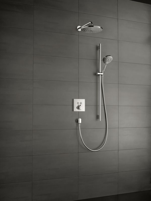 Hansgrohe 15763821 Brushed Nickel ShowerSelect Thermostatic 2 ...
