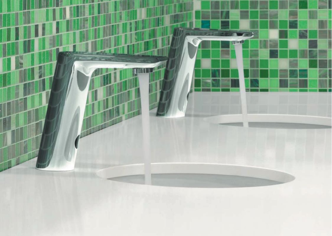 Hansgrohe 31101001 Chrome Metris S 1.2 GPM Single Hole Bathroom ...