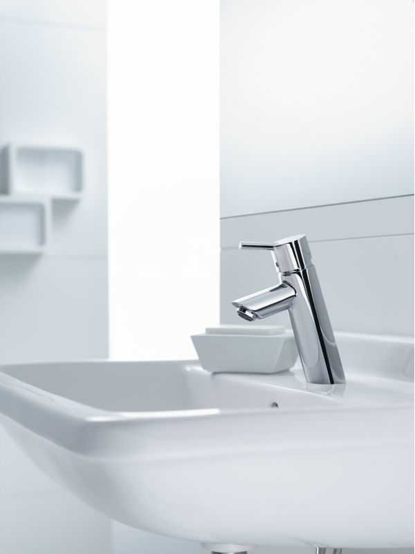 Hansgrohe 32040821 Brushed Nickel Talis S Single Hole Bathroom ...