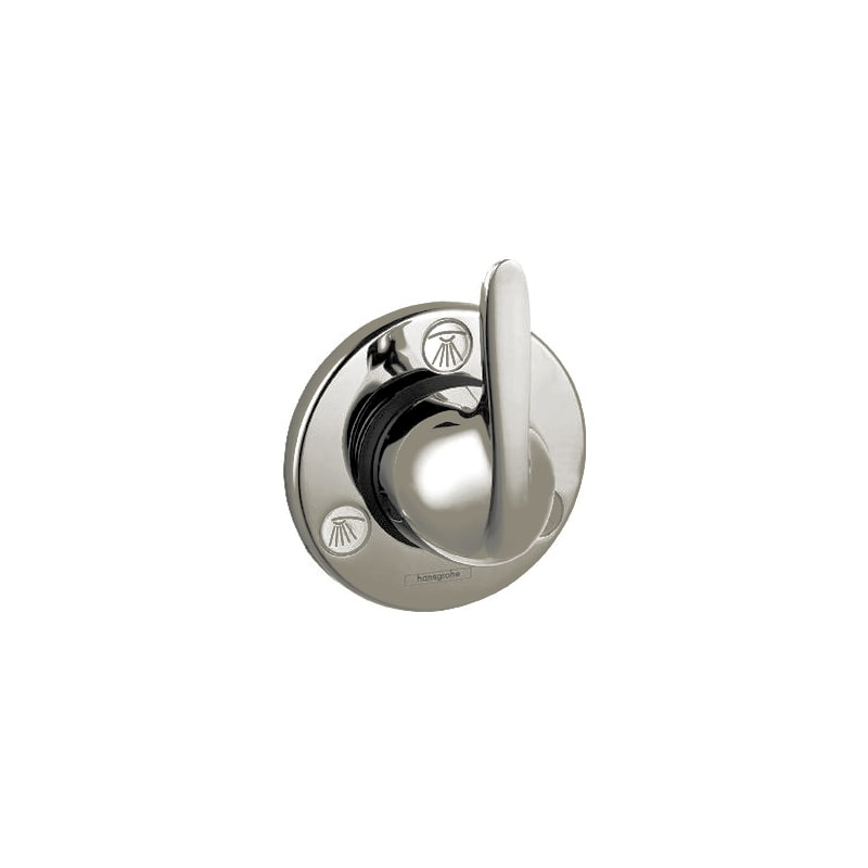 Hansgrohe undefined Brushed Nickel E Shower Faucet with Thermostatic ...