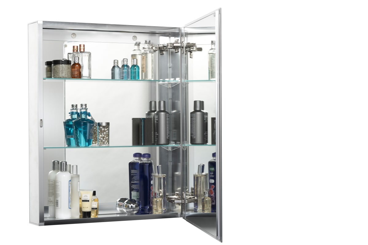 Jacuzzi Pd42000 Silver Aluminum 30 H X 24 W X 5 1 4 D Single Door