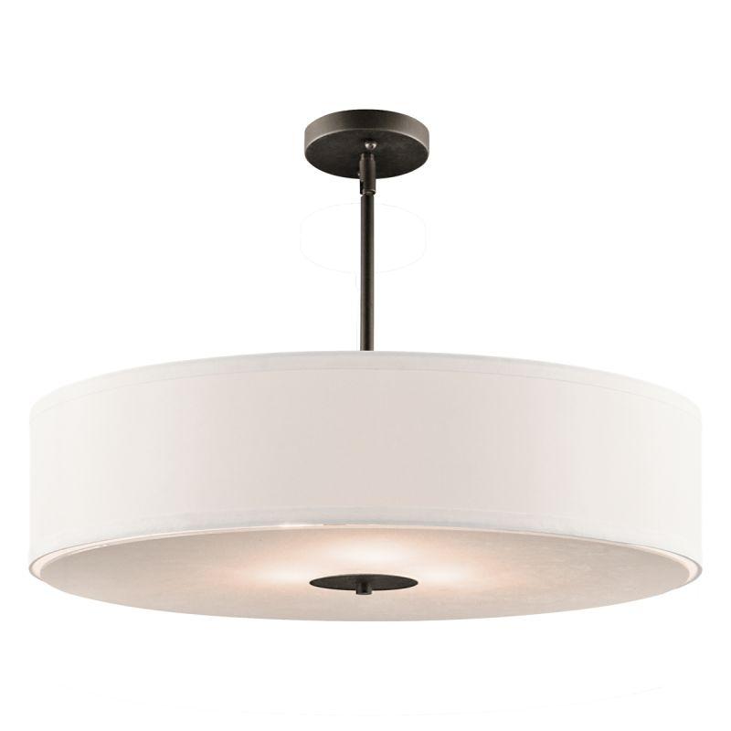 3 light pendant rustic kichler 42122oz olde bronze light 24