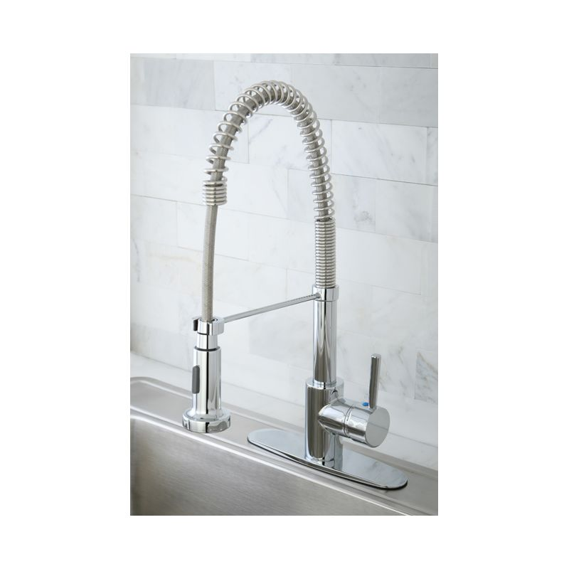 Kingston Brass GS8881DL Polished Chrome Concord Pre-Rinse Kitchen ...