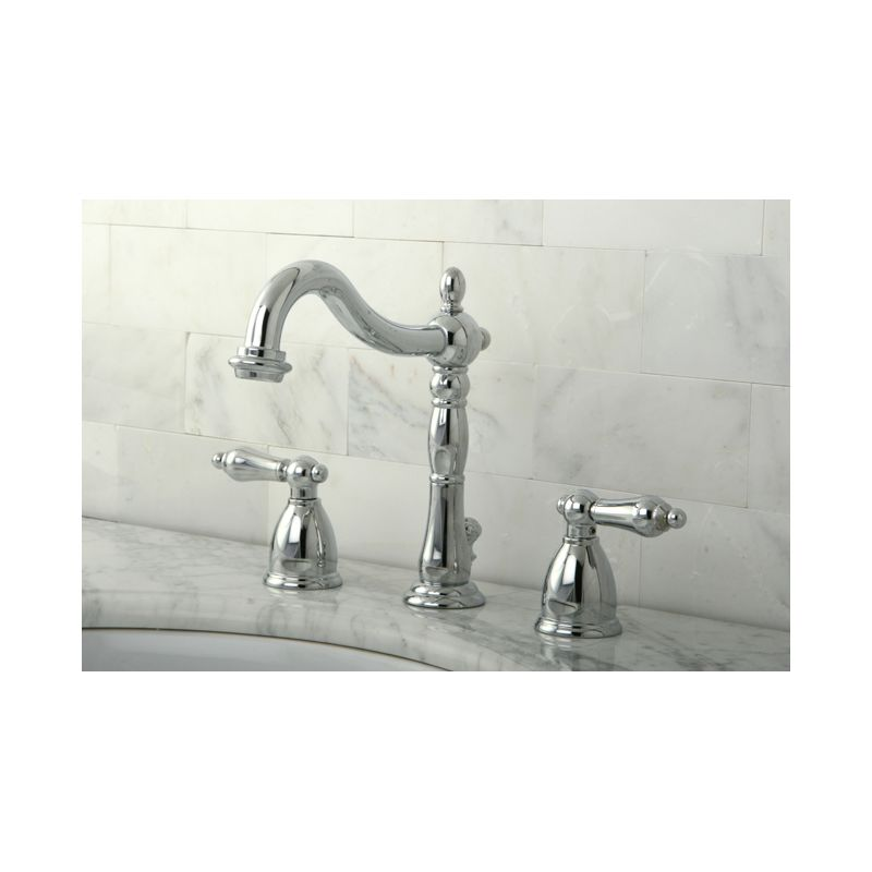 beauteous bronze faucets for bathroom. Kingston Brass KB1975AL Oil Rubbed Bronze Heritage Widespread Bathroom  Faucet with Pop Up Drain Assembly and Metal Lever Handles com