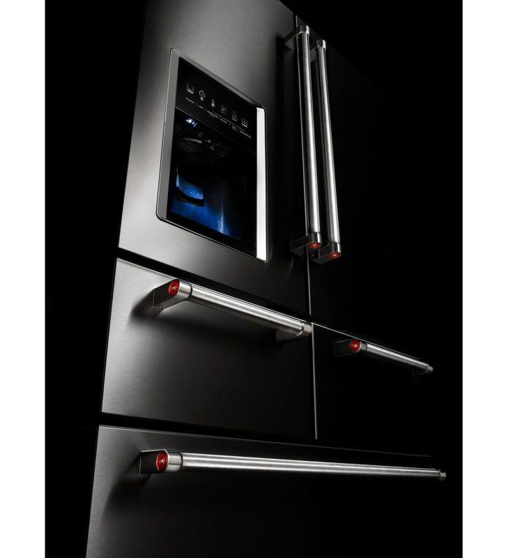 Kitchenaid Refrigerator Black Stainless kitchenaid krmf706e - build