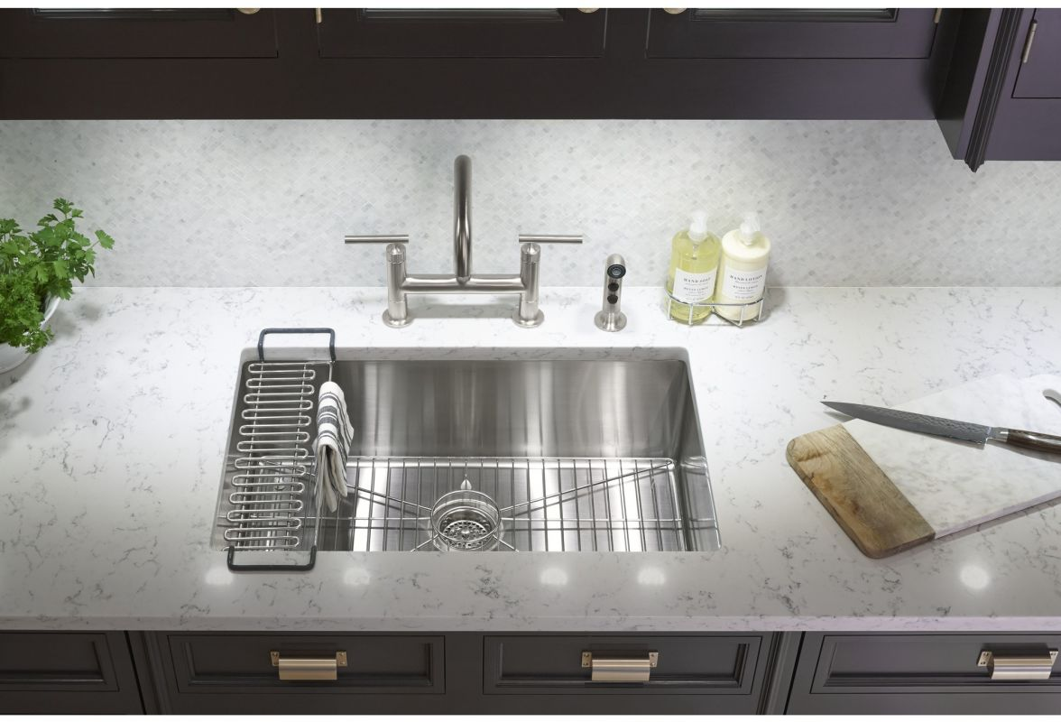 Kohler K-5409-NA Stainless Steel Strive 29\