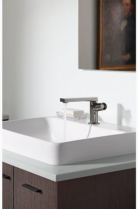 Kohler K-73050-7-CP Polished Chrome Composed Single-Handle Bathroom ...