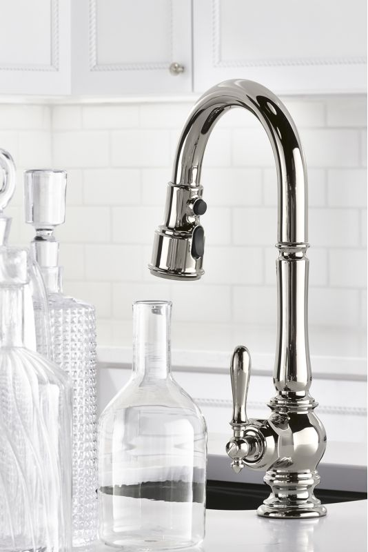 Kohler K 99261 Sn Vibrant Polished Nickel Artifacts Pullout Spray