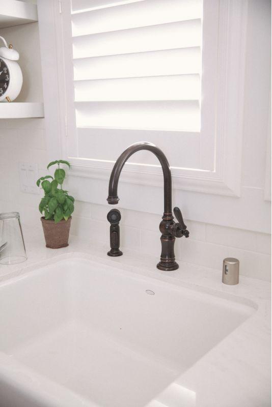 Kohler Oil Rubbed Bronze Kitchen Faucet Home Interior