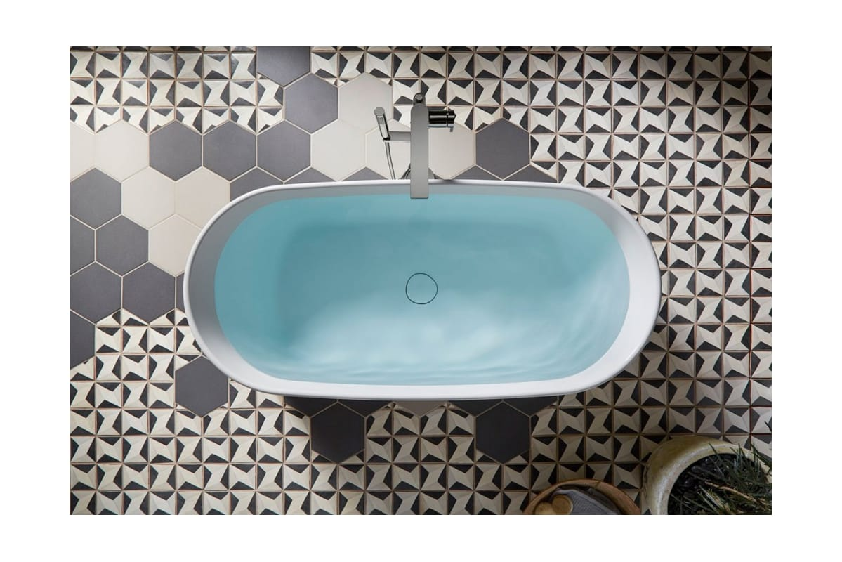 Kohler K-T73087-4-CP Polished Chrome Composed Floor Mounted Roman ...