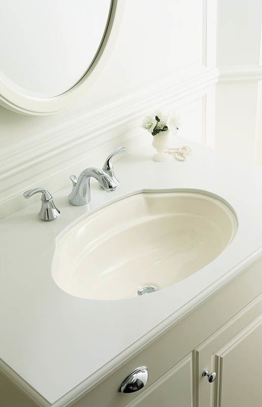 Kohler K-10272-4-G Brushed Chrome Forte Widespread Bathroom Faucet ...