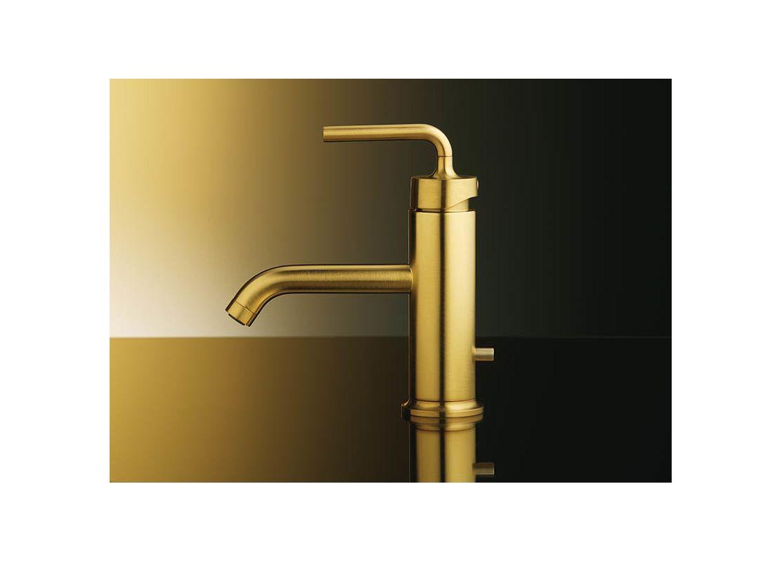 Kohler K-14402-4A-0 White Purist Single Hole Bathroom Faucet - Free ...