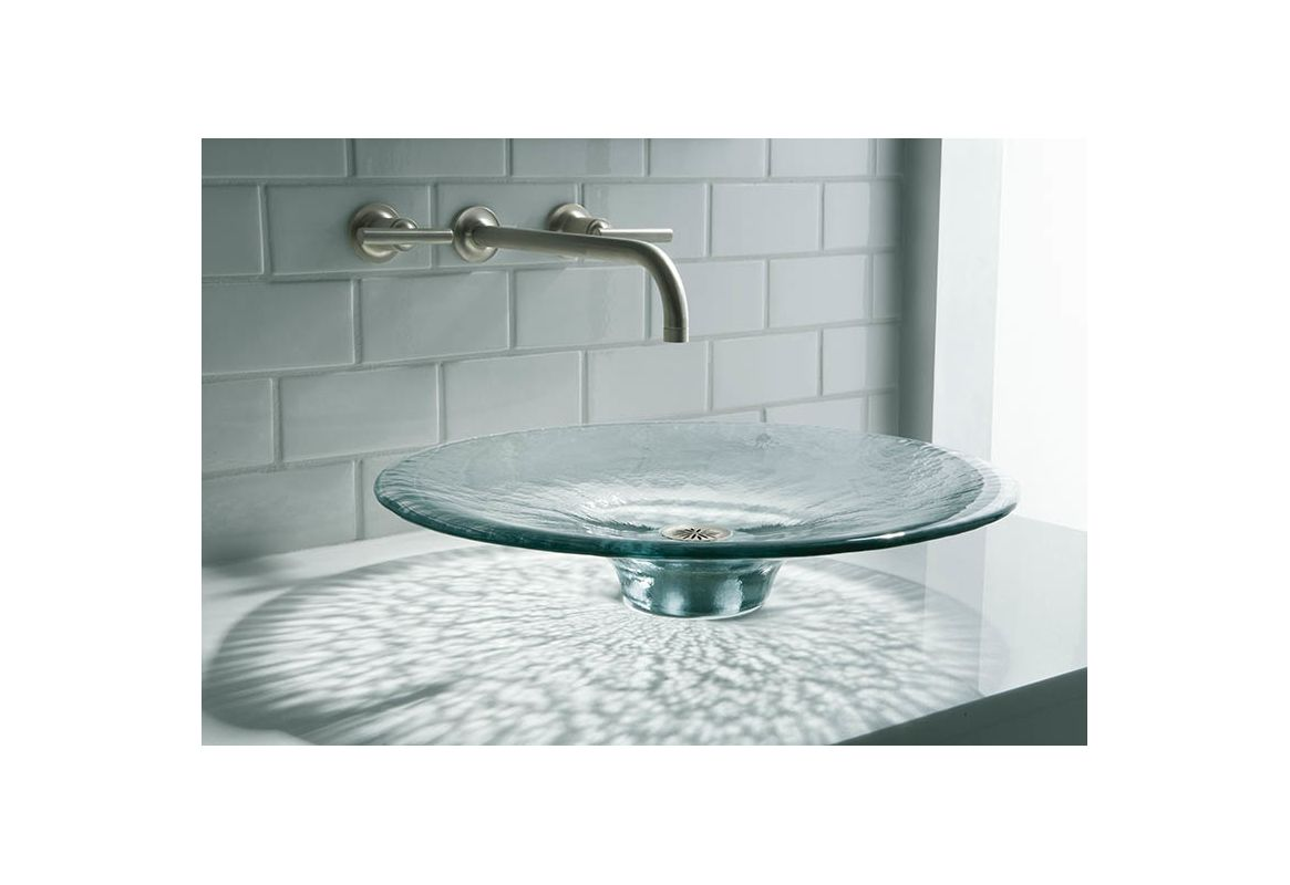 Kohler K-2367-B11 Ice Artist Editions Lavinia Glass 3-7/8\