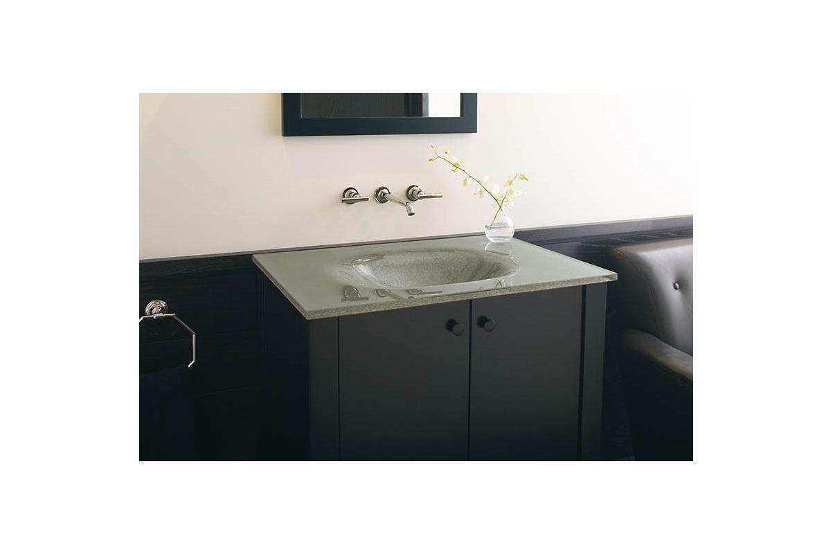 Kohler KF Cinder Traditional Antique Colonial Mirror From - Kohler purist bathroom sink