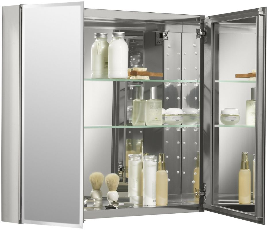 Kohler K Cb Clc3026fs Silver Aluminum 30 X 26 Double Door
