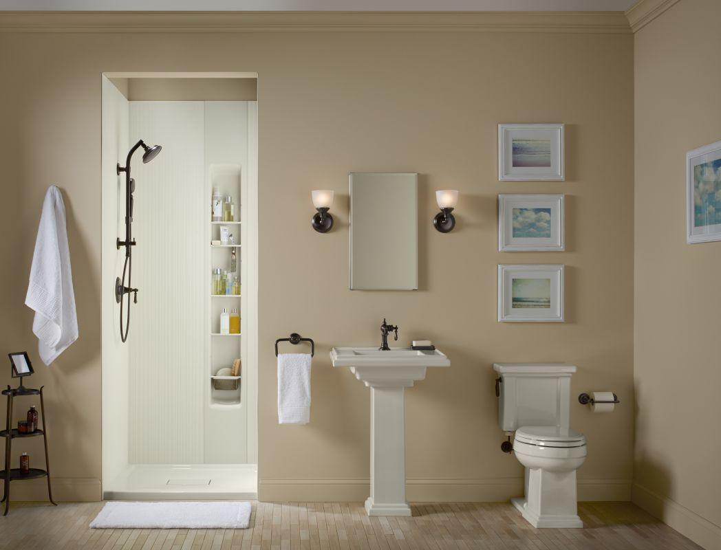 Kohler K Cb Clc1526fs Silver Aluminum 15 X 26 Single Door Reversible Hinge Frameless Mirrored Medicine Cabinet Faucet