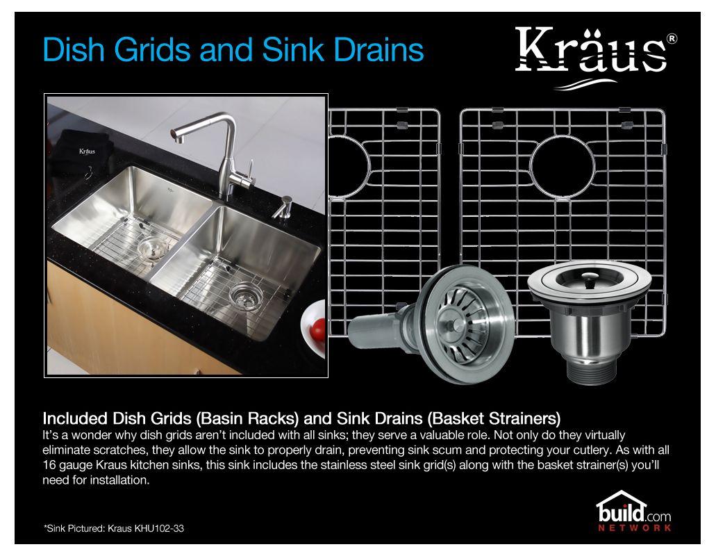 Kraus KBU14-KPF2121-SD20 Stainless Steel Kitchen Combo - 31-1/2 ...