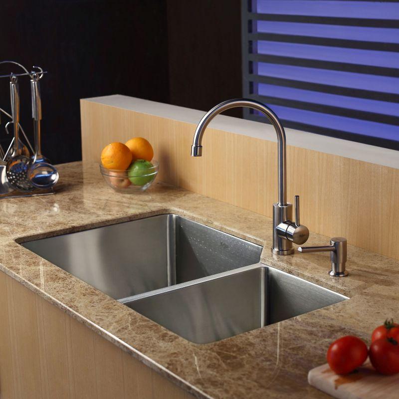 Kitchen Sink Faucet Placement Faucet Accessories Placement Double