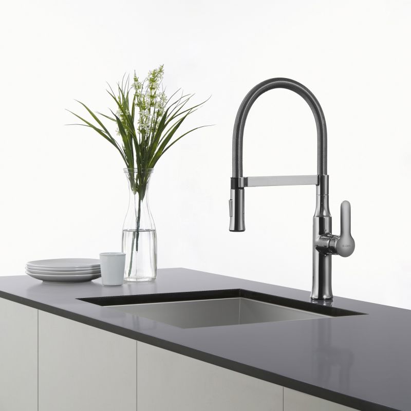 pull sprayhead faucet com down handle in single kitchen all nolen kraususa kraus sale on faucets with kpf dual function