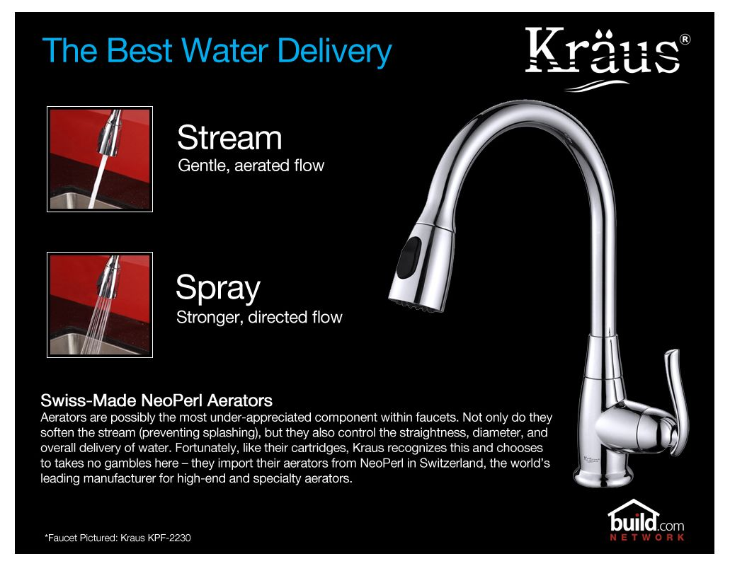 Kraus KPF-2110-SD20 Stainless Steel Stainless Steel Pullout Spray ...