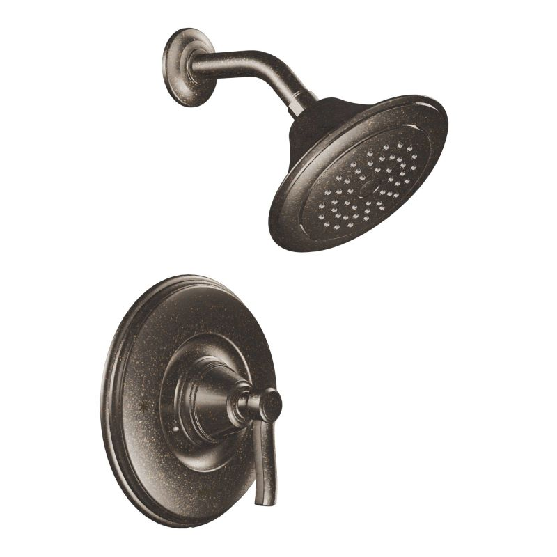 Moen 2025BN Brushed Nickel Pressure Balanced Shower System with ...