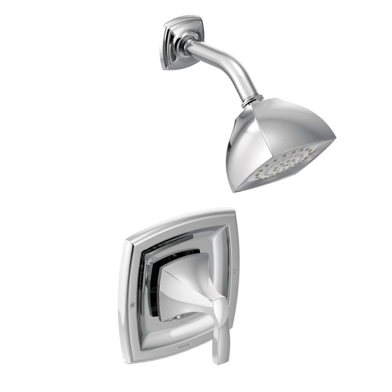 Moen 425BN Brushed Nickel Pressure Balanced Shower System with ...