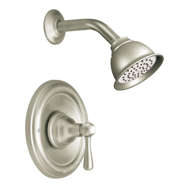 Moen 525BN Brushed Nickel Pressure Balanced Shower System with ...