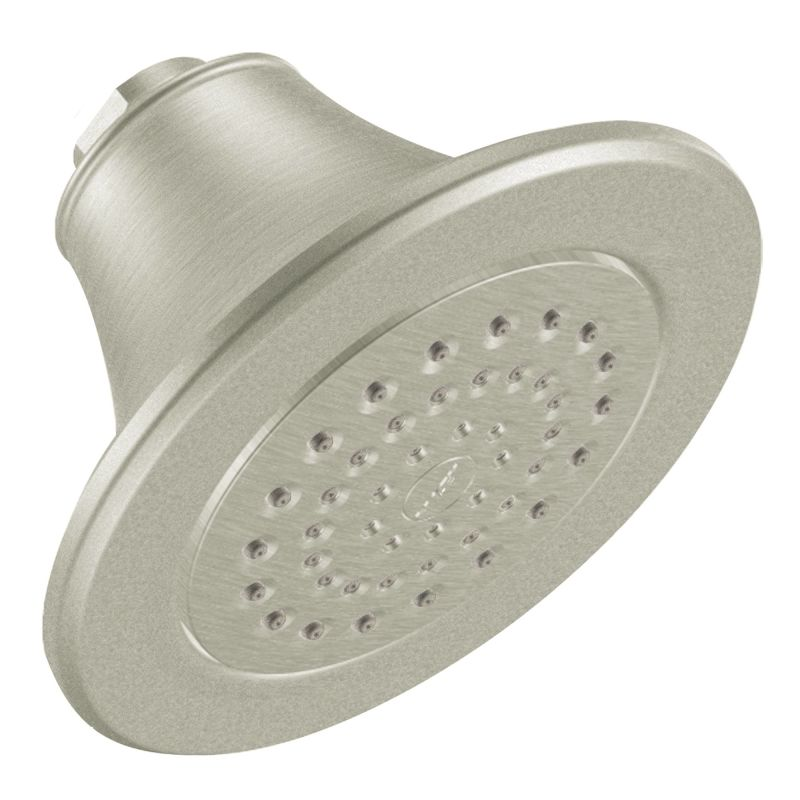 Moen 600SBN Brushed Nickel Pressure Balanced Shower System with 2.5 ...