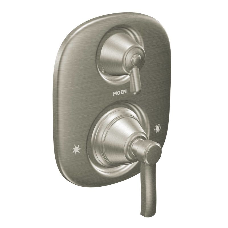 Moen 703BN Brushed Nickel Pressure Balanced Shower System with ...