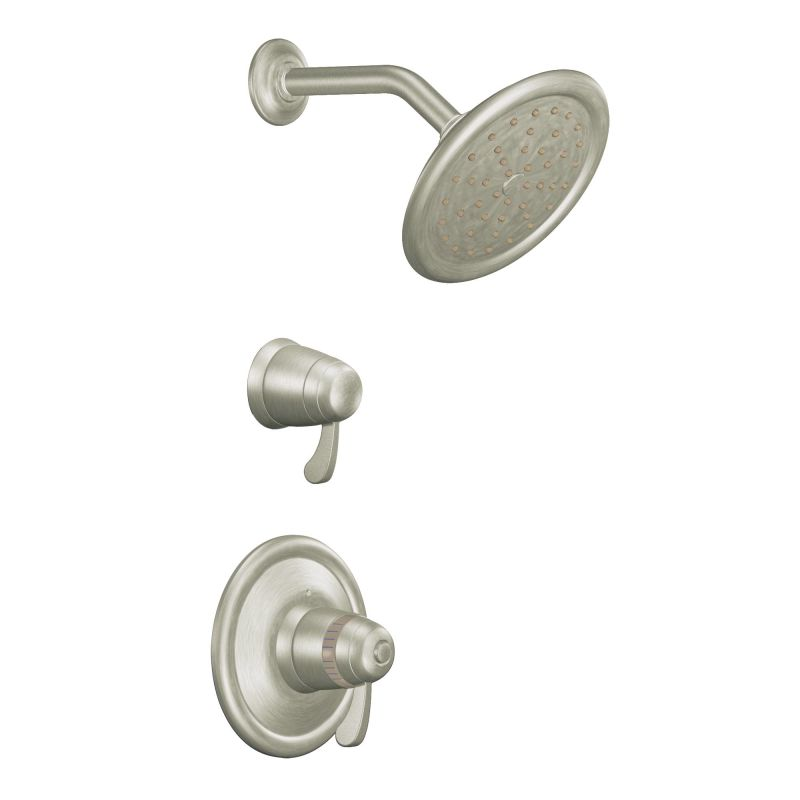 Moen 776ORB Oil Rubbed Bronze Thermostatic Shower System with Rain ...