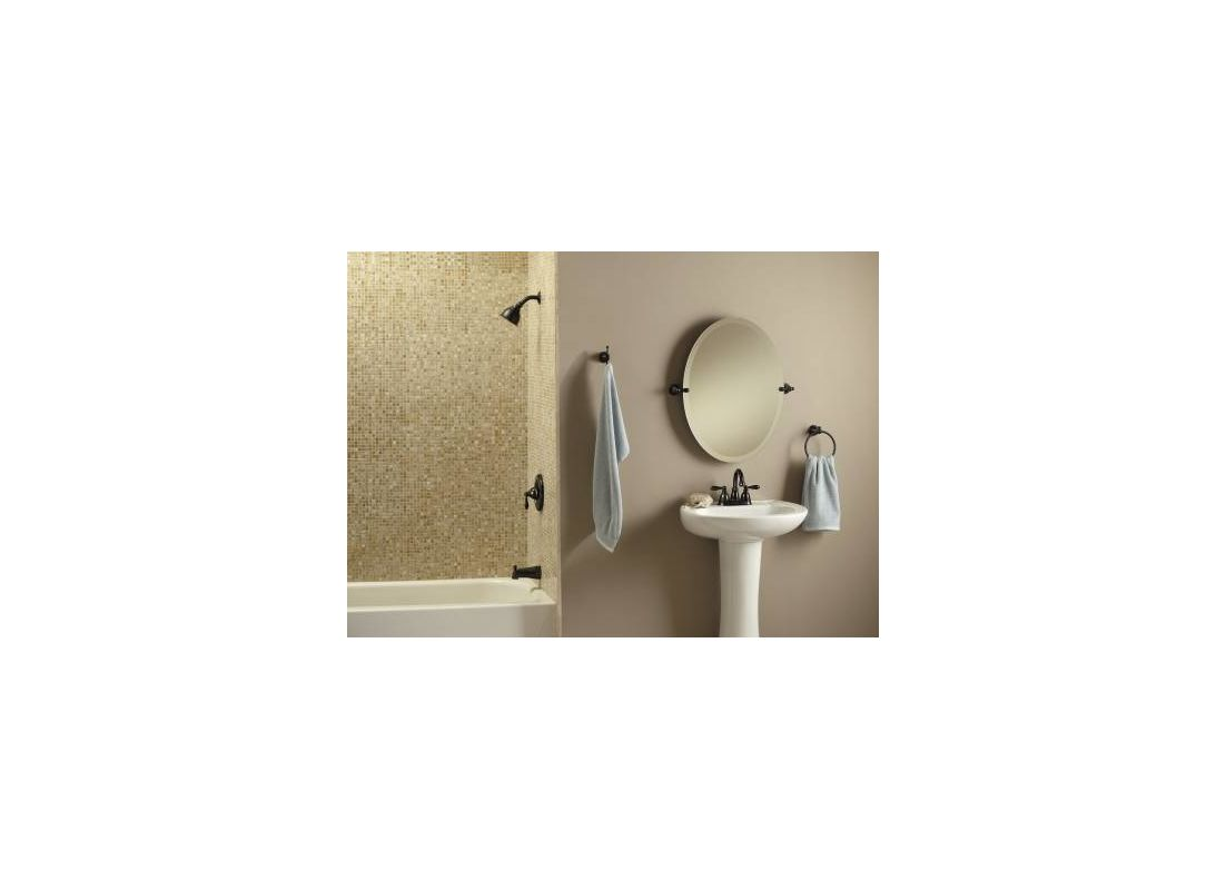 Moen 82496EP Chrome Posi-Temp Pressure Balanced Tub and Shower Trim ...