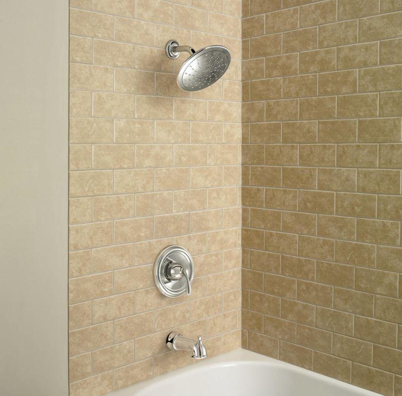 Moen 82991 Chrome Posi-Temp Pressure Balanced Tub and Shower Trim ...