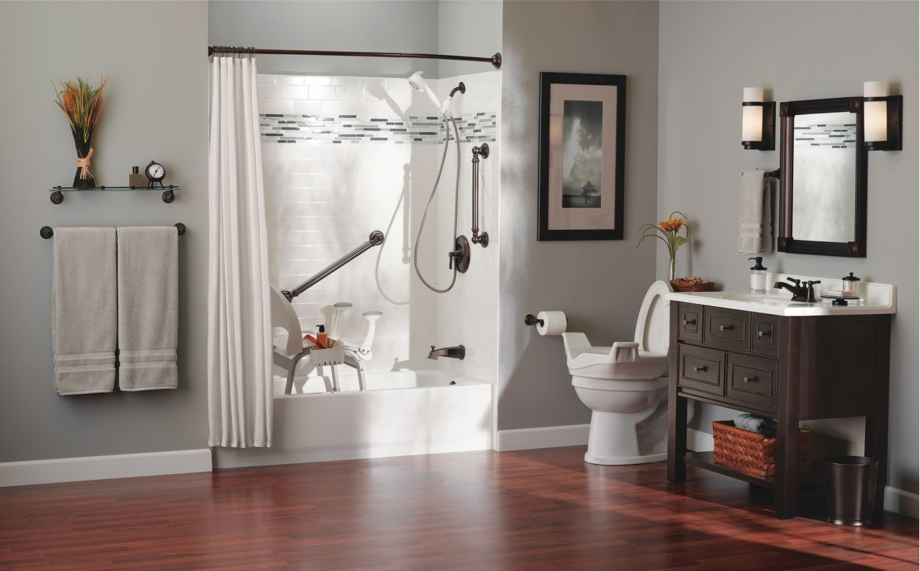 moen csidn7100 glacier adjustable shower seat with seat back and arm rests from the home care collection