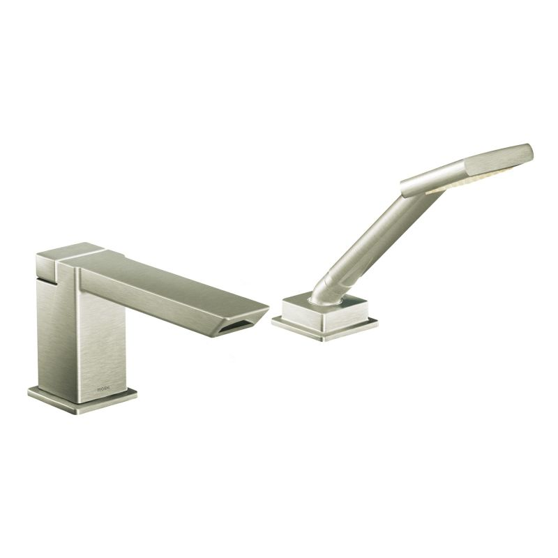 Moen TS9041 Chrome Roman Tub Faucet Trim with ioDIGITAL Technology ...