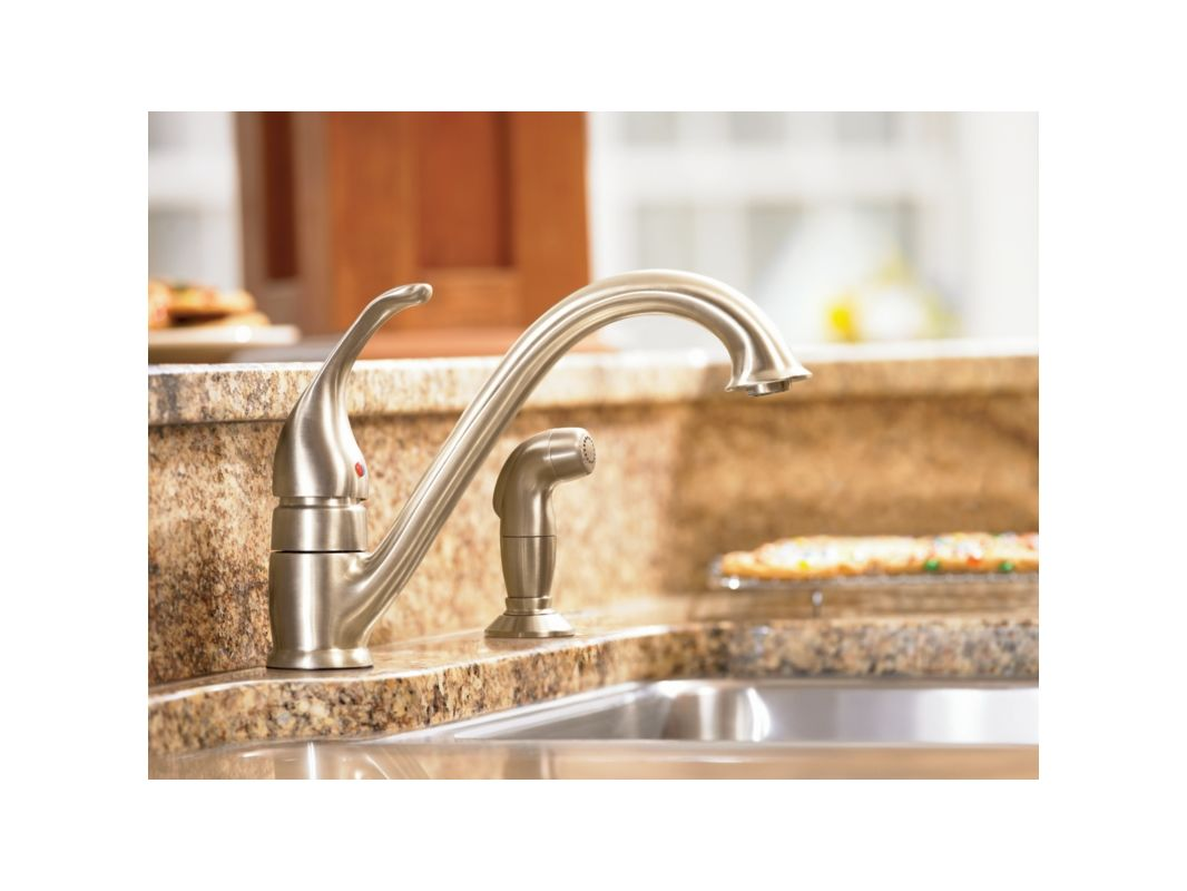 pin faucet moen kitchen a faucets to how repair pull out