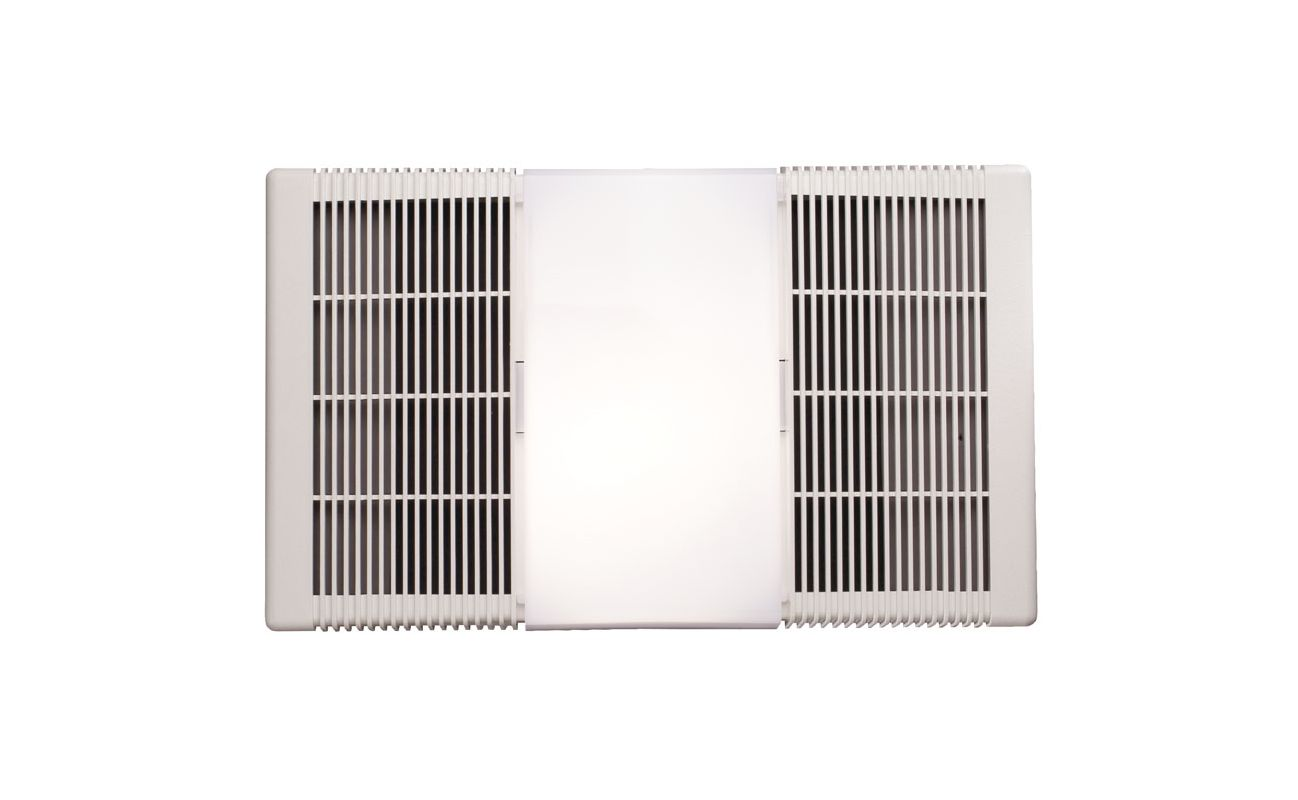 NuTone 665RP White 70 CFM 4 Sone Ceiling Mounted HVI Certified Bath Fan  With Heater And Light   VentingDirect.com