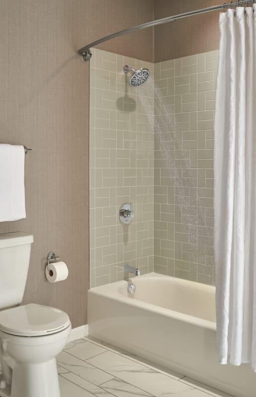 Peerless PTT188792-BNLHD Brushed Nickel Apex Tub and Shower Trim ...