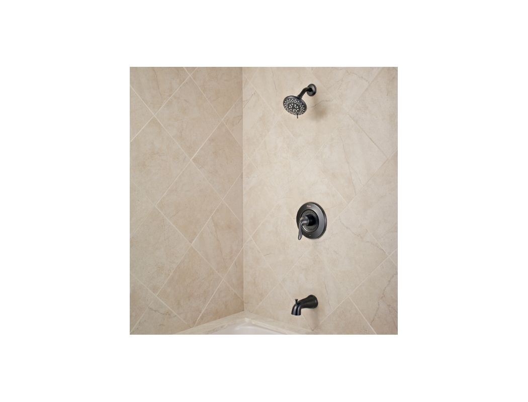 Pfister R90 TN2Y Tuscan Bronze Universal Tub And Shower Trim Package With  Multi Function Shower Head And Diverting Tub Spout   Transitional Design    Faucet. ...
